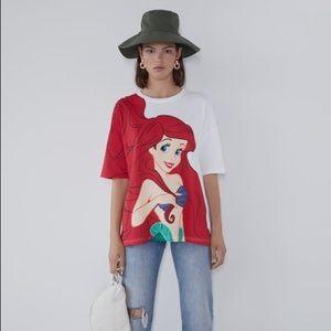 NWT Zara Disney Shirt